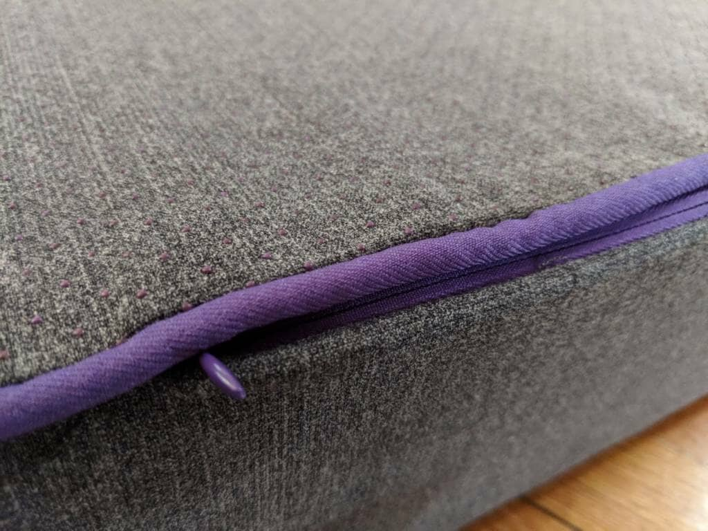 Purple Zippered Cover