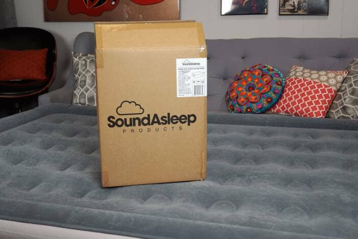 soundasleep dream series air mattress unboxing & review