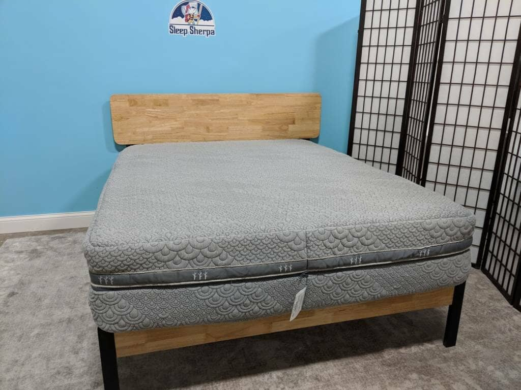 crystal cove mattress unboxed
