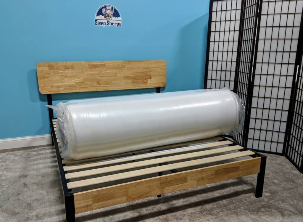 Lucid mattress out of the box
