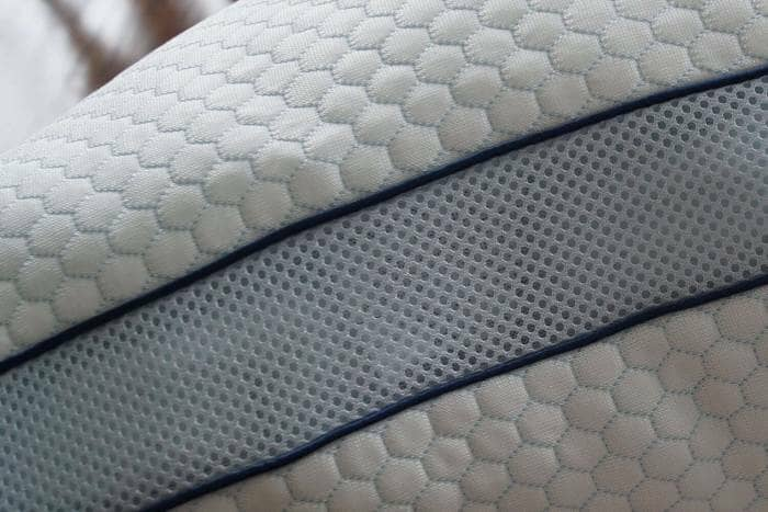 isense smart pillow close up