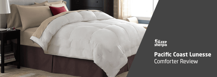 Pacific Coast Lunesse Comforter Review