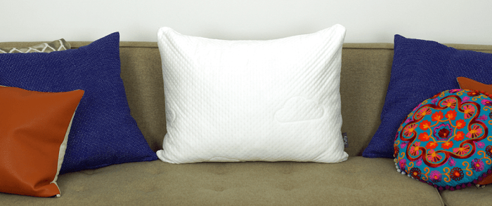 pillow puffy after unboxing