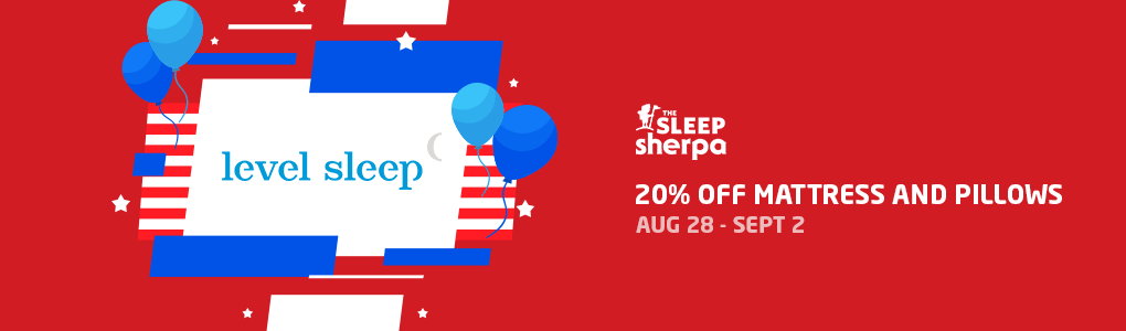 Labor Day Sale - Level Sleep