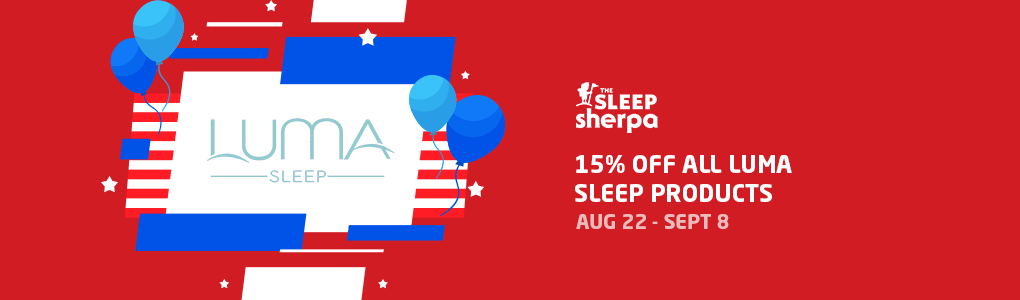 Labor Day Sale - Luma Sleep