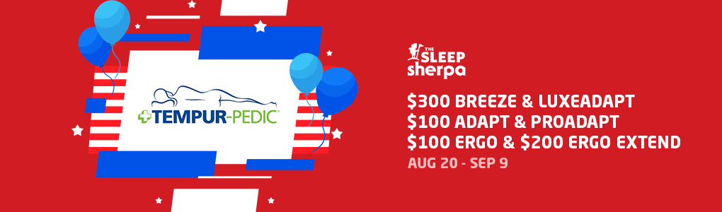Labor Day Mattress Sale - Tempur Pedic