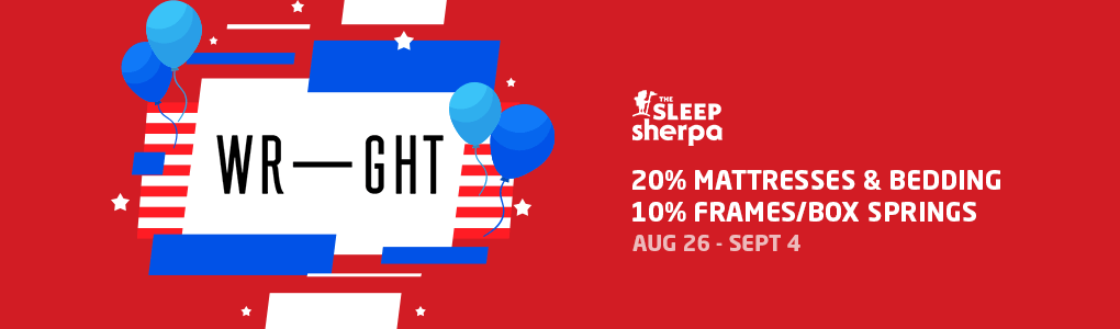 Labor Day Sale - Wright Bedding