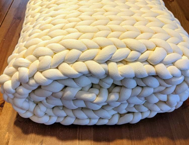 folded weighted blanket