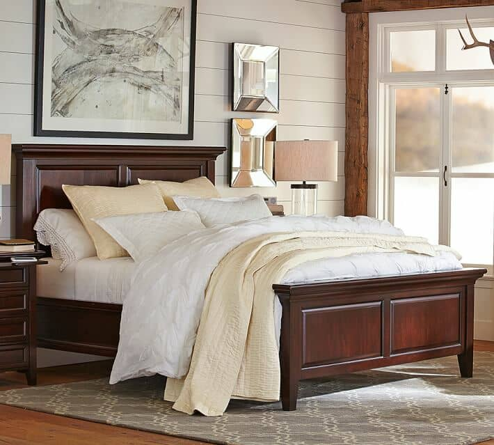 pottery barn bed
