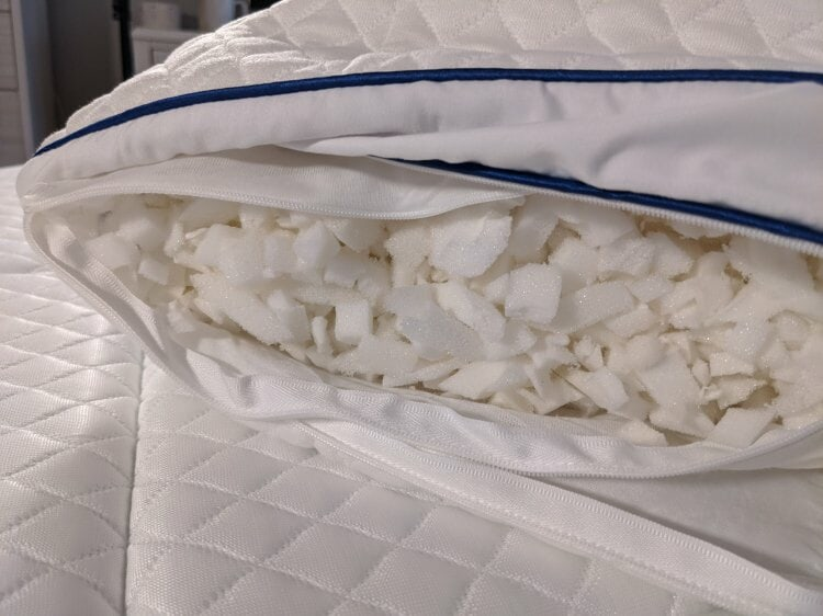 Idle Pillow inside